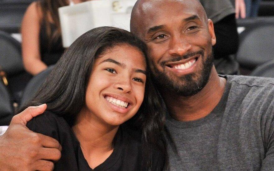 Kobe Bryantas su dukra