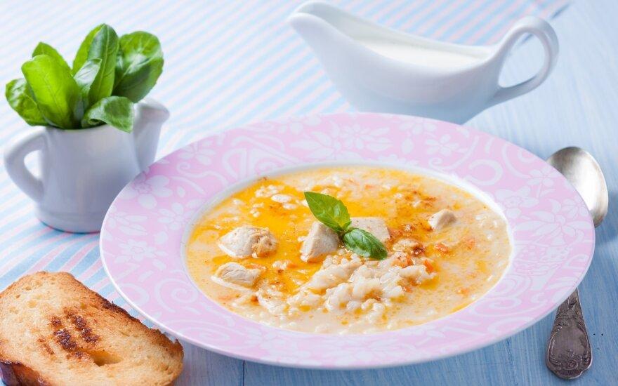 Trinta vištienos sriuba
