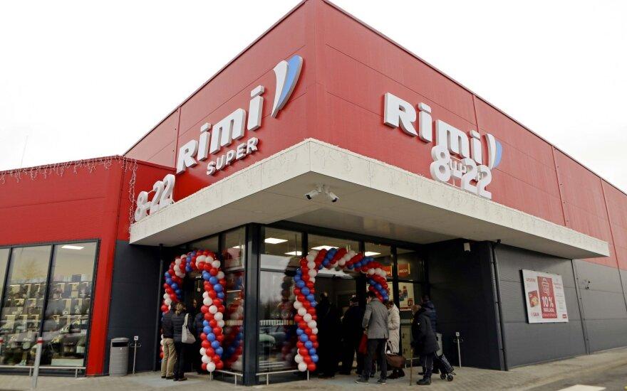 """Rimi Lietuvos"" ""Rimi Lietuvos"" pajamos pernai augo 3,8 proc. iki 337 mln. eurų"