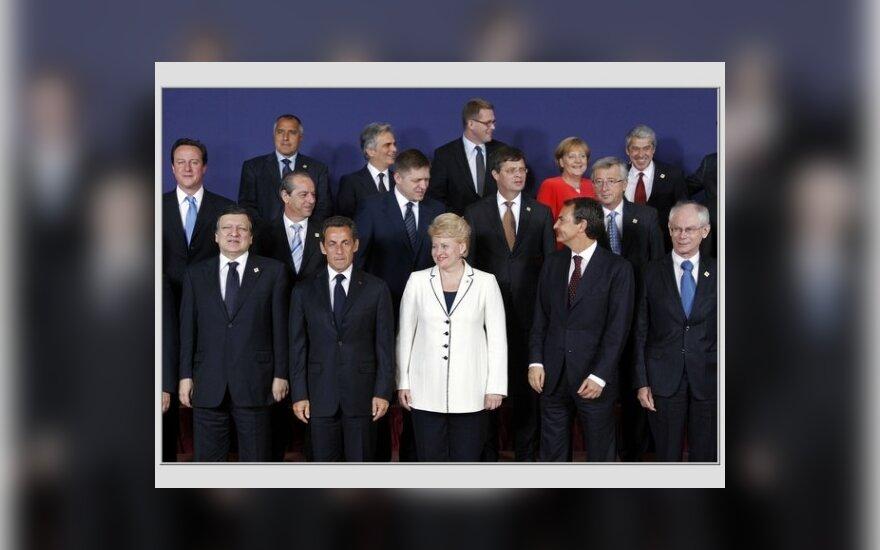 Dalia Grybauskaitė ir ES šalių vadovai