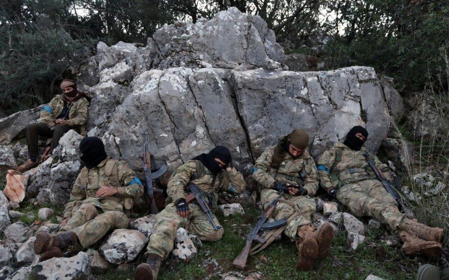 Sirijos valdančiojo režimo pajėgos įžengė į Afrino rajoną