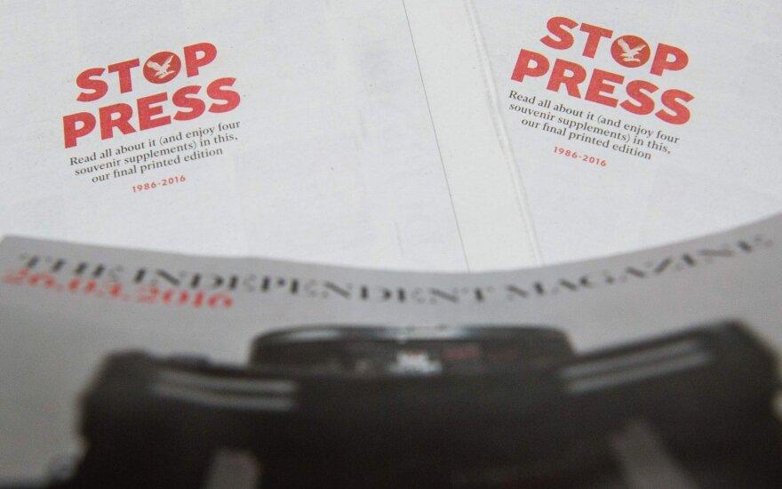 Spaustuvininkai konstatuoja: reklamos spauda sumažėjo drastiškai