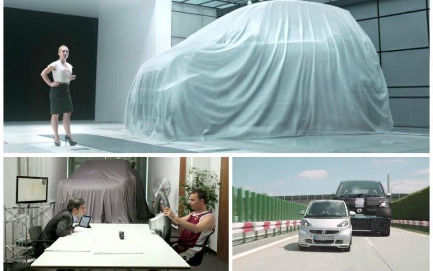 Didžiausias Smart automobilis