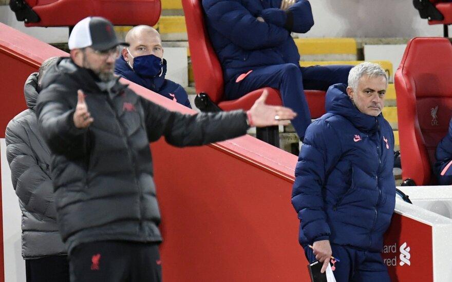 Jurgenas Kloppas,  Jose Mourinho