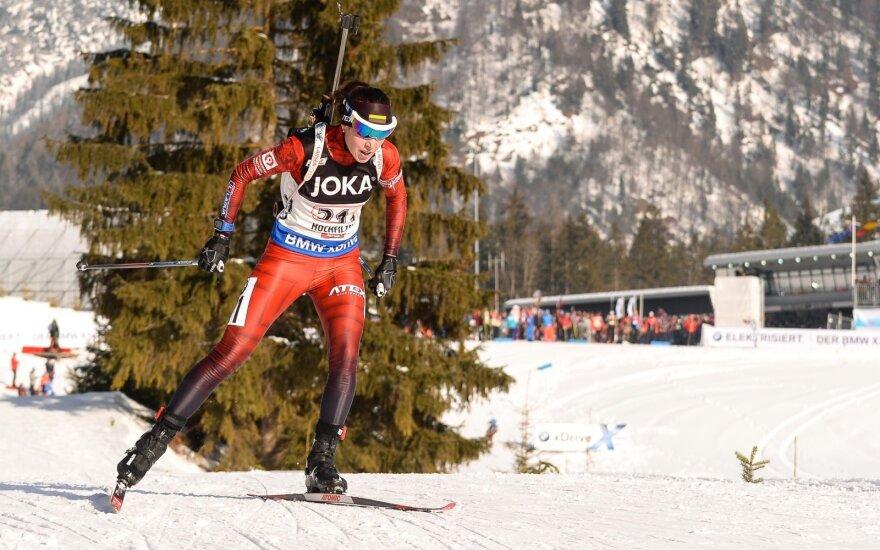 Biatlonininkė Natalija Kočergina