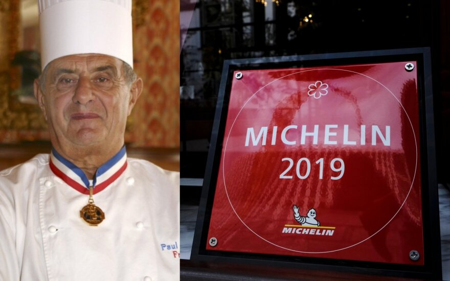 Prancūzų virtuvės šefas Paul Bocuse