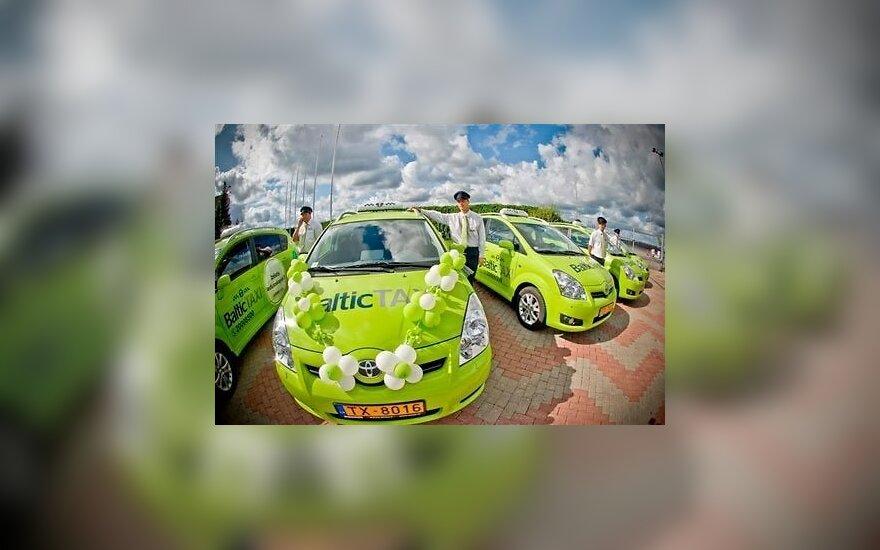 Baltic Taxi automobiliai
