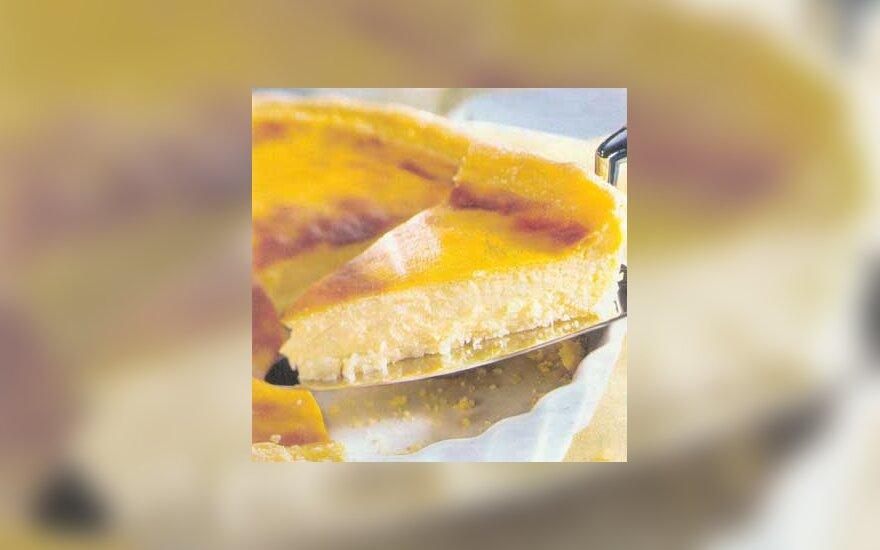 Vanilinis sūrio pyragas