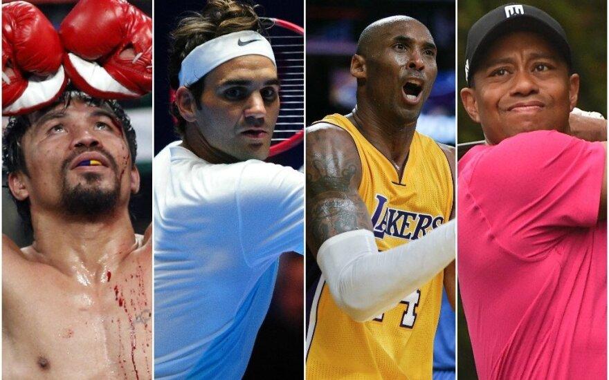 Sporto žvaigždės, kurių era baigiasi
