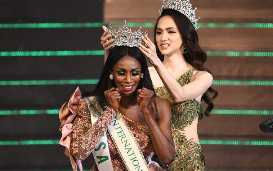 JAV atstovė laimėjo translyčių moterų grožio konkursą Tailande