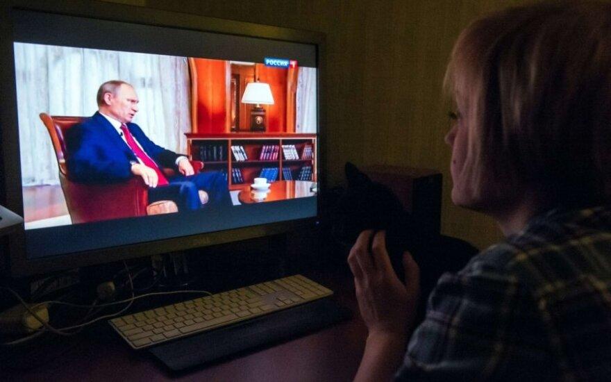 Vladimiras Putinas televizijoje