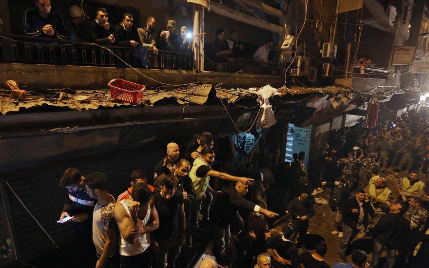 Libanas: Beirute sulaikyta 70 riaušininkų