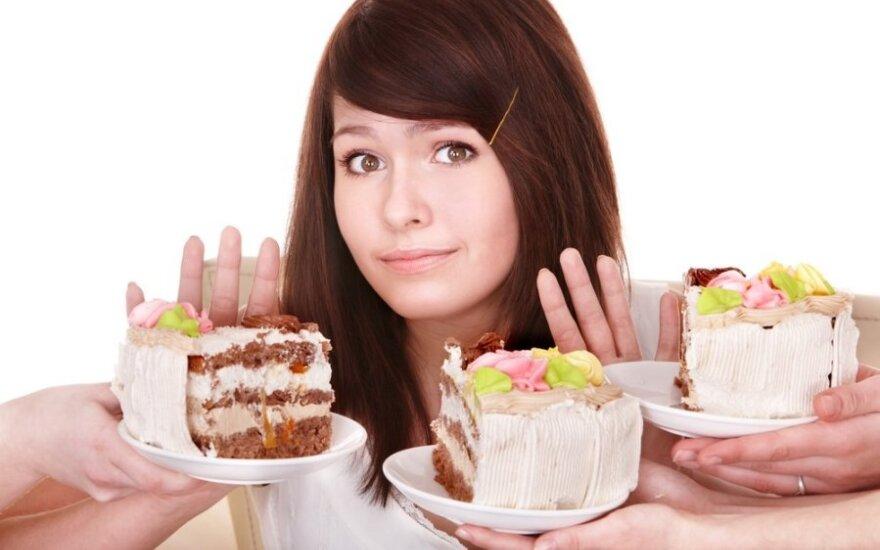 Kaip išmokti nepersivalgyti?