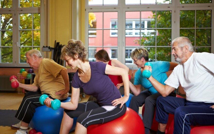 Ar fizinis aktyvumas stabdo senėjimą?