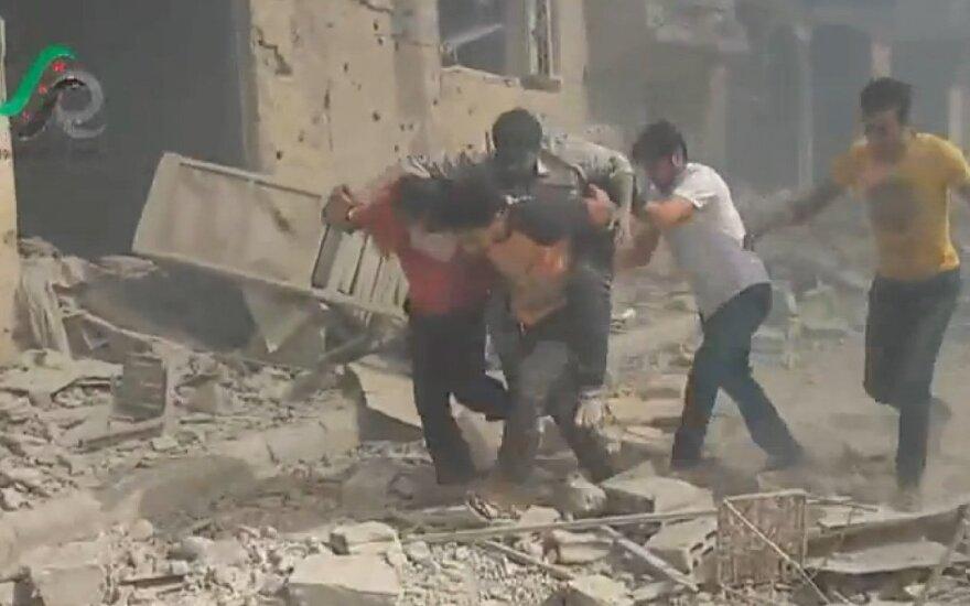 Sirijos opozicija: Rusija mums melavo