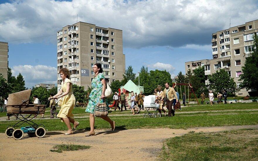 """Serialo """"Černobylis"""" akimirkos / Foto: Sister Pictures ir Sky Television"""