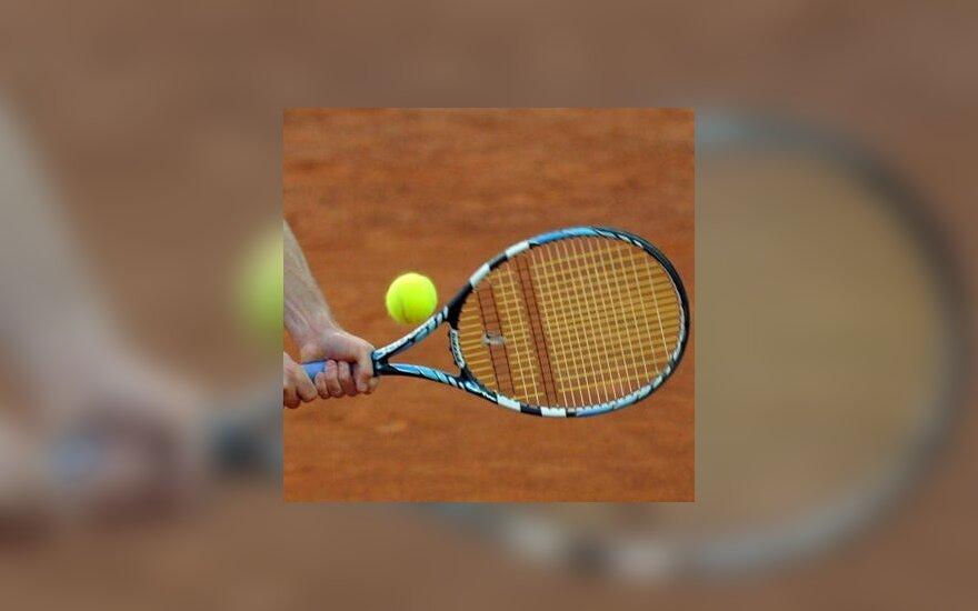 """L.Grigelis baigė pasirodymą """"Challenger"""" serijos teniso turnyre Italijoje"""
