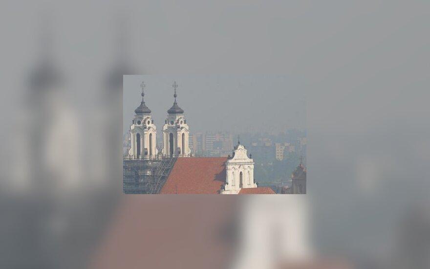 Smogas virš Vilniaus