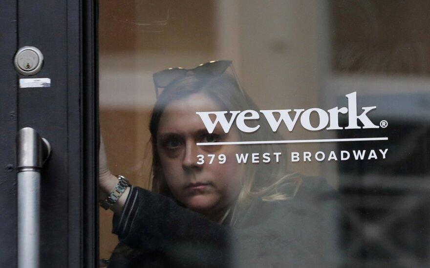 """""""WeWork"""" darbuotojai įsiuto: ant bankroto ribos įmonę privedęs steigėjas gaus 1,2 mlrd. dolerių premiją"""
