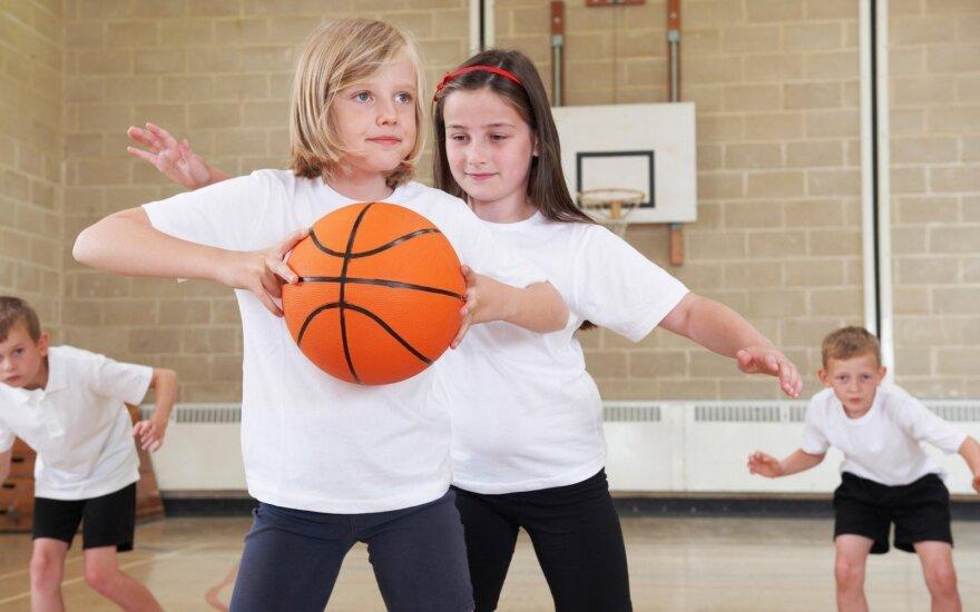 Vilniuje atsiras nauja sporto aikštelė vaikams