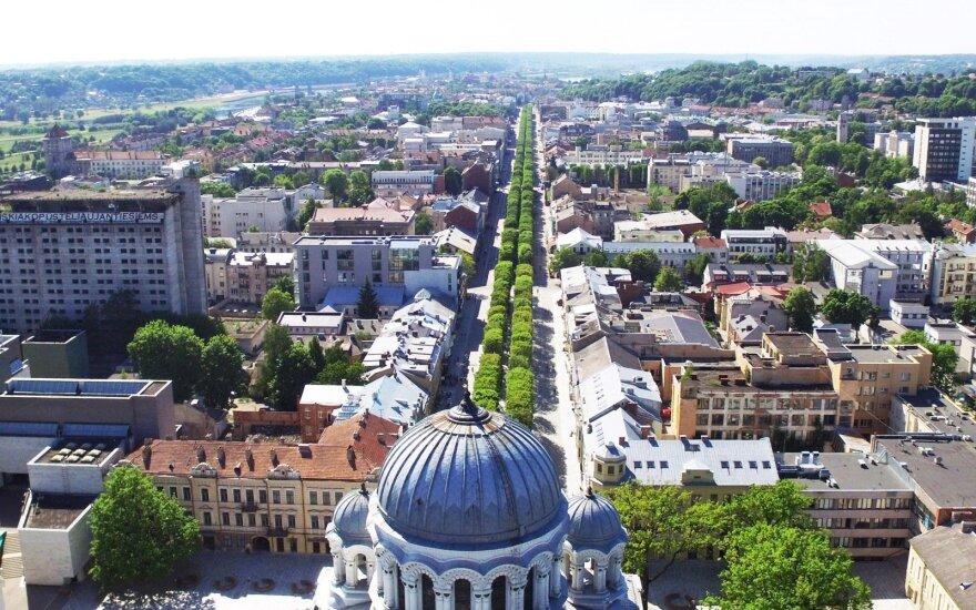 Kaunas Laisvės Alėja (Freedom Avenue)