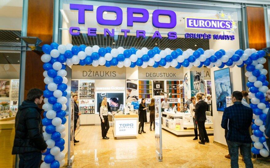 "Vilniaus ""Akropolyje"" vietoje ""Elektromarkt"" – ""Topo centro"" plėtra"