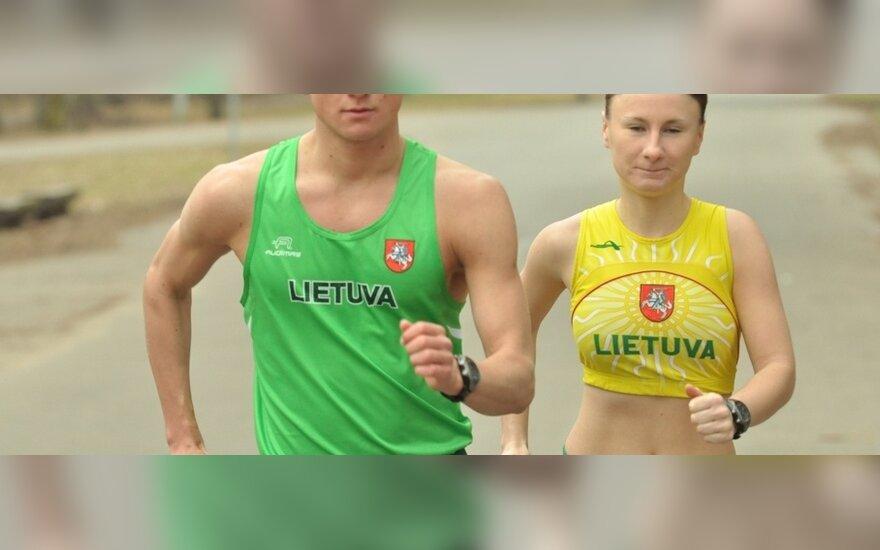 Tadas Šuškevičius ir Brigita Virbalytė
