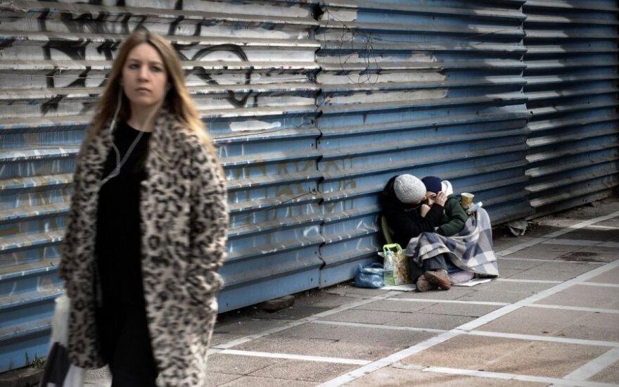 Graikija, skurdas