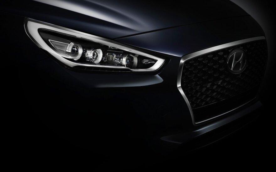 """""""Hyundai i30"""" užuomina"""