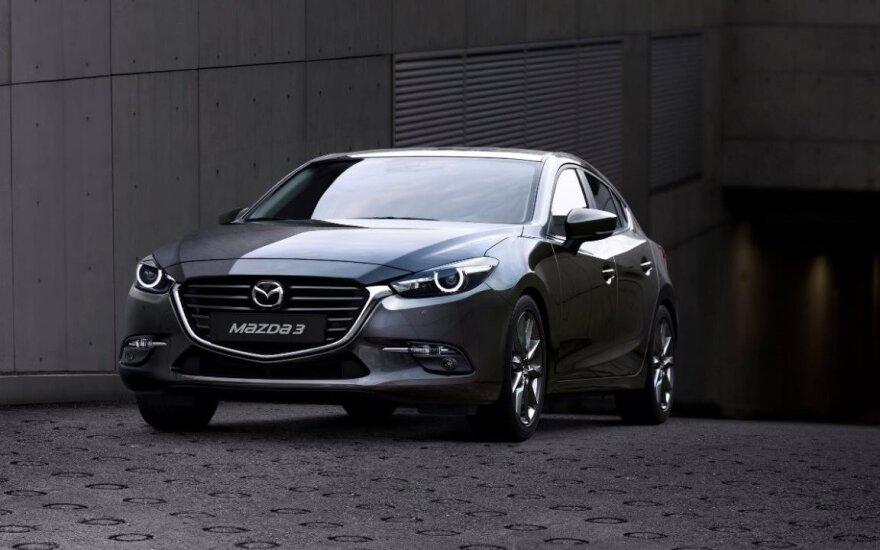 """Naujasis motoras iš pradžių bus montuojamas """"Mazda3"""" automobilyje"""