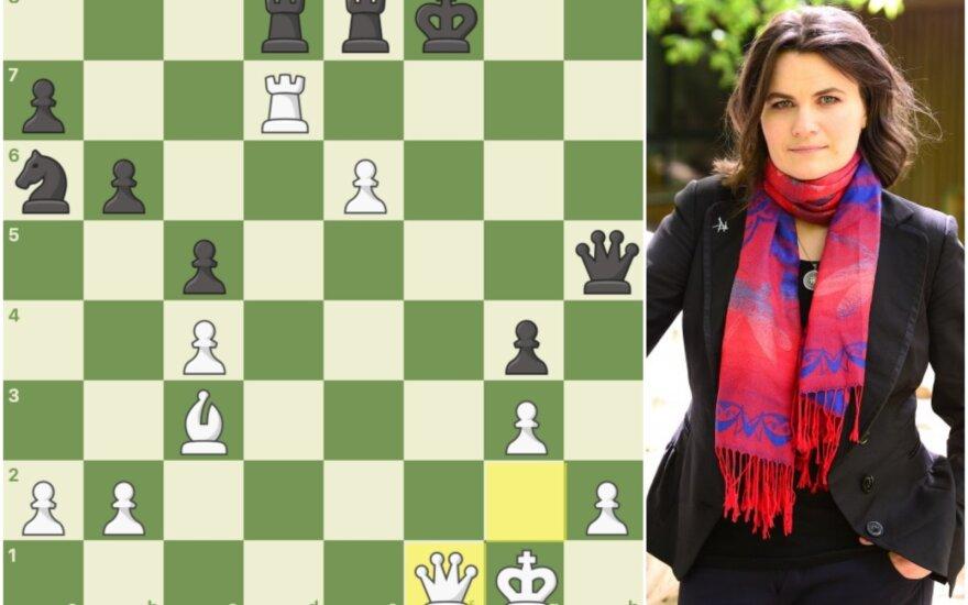 Internetiniai šachmatai, Salomėja Zaksaitė