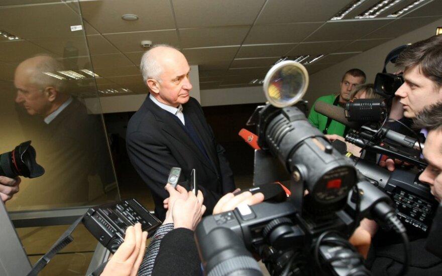 R. Šarkinas: jei visi būtų pasistengę, euras būtų įvestas 2007 m.