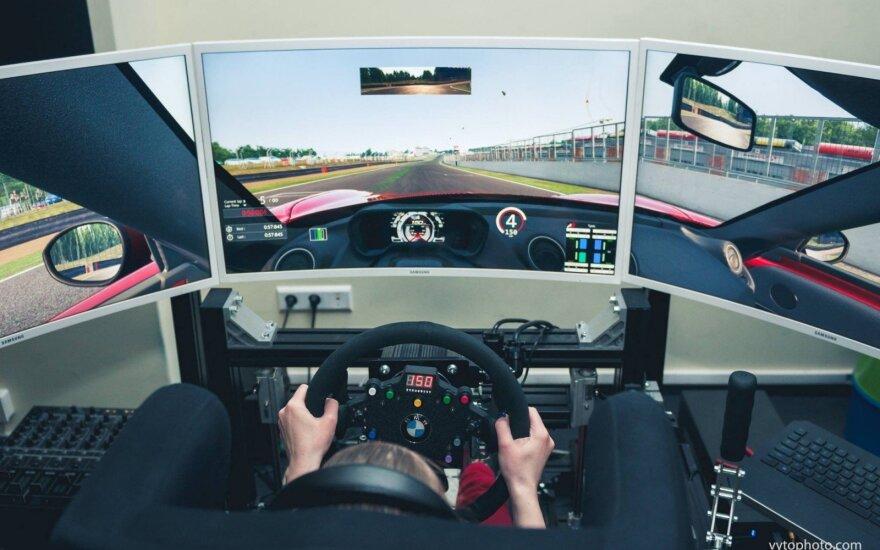 Virtualių lenktynių kursai – startui realiose varžybose