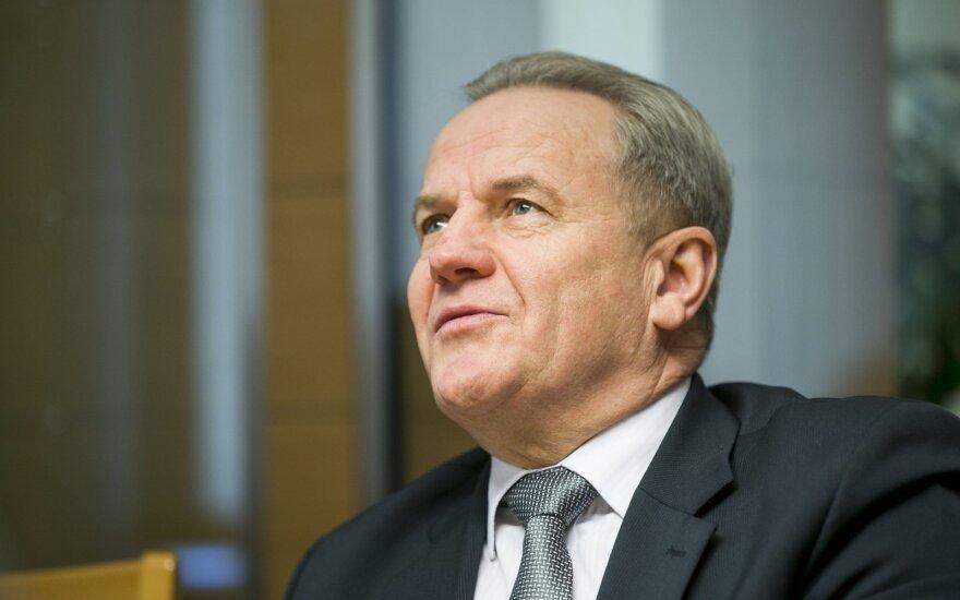 Lithuanian Environment Minister Kęstutis Trečiokas