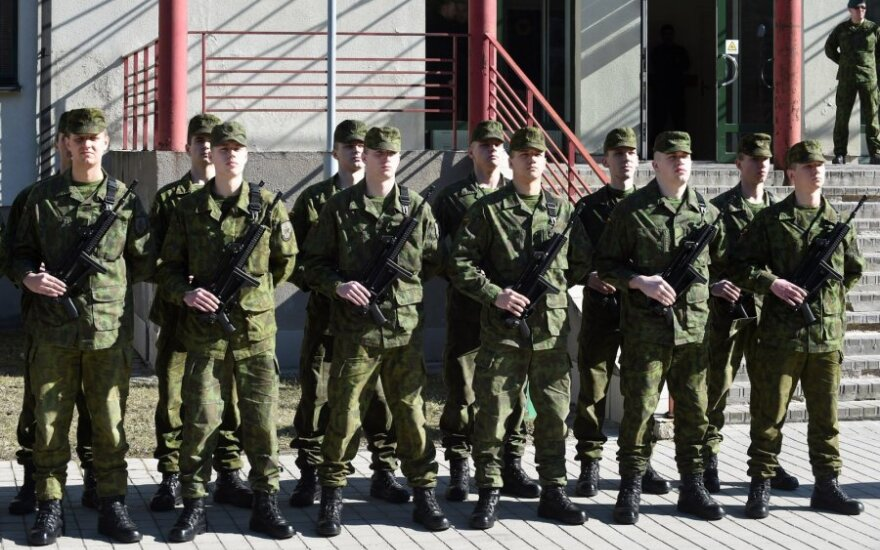 Over 850 conscripts to begin serving in Lithuanian army