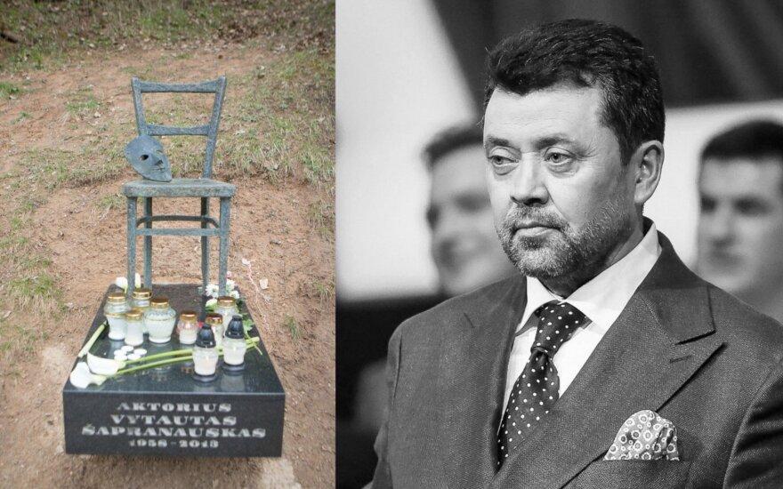 V. Šapranausko kapas, Vytautas Šapranauskas