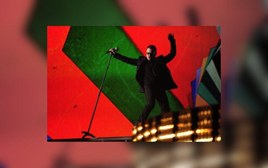 """""""U2"""" patvirtino koncertinio turo Europoje planus"""