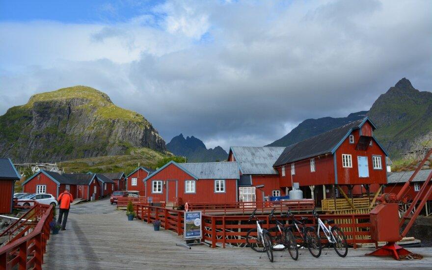 Ekspedicija Lofotenų salose: pakerėjo kvapą gniaužiantys vaizdai