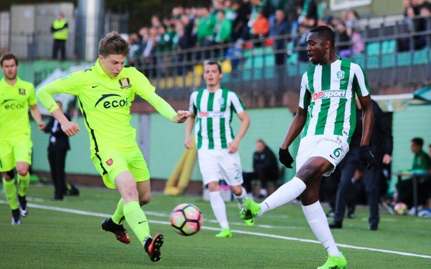Lietuvos futbolo A lyga: Žalgiris-Trakai