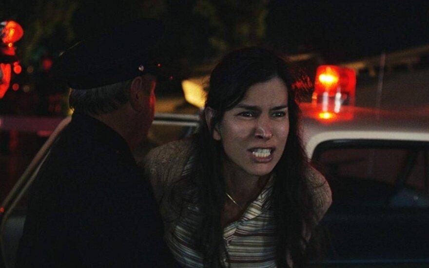 """Patricia Velasquez, kadras iš filmo """"Verkiančios moters prakeiksmas"""""""