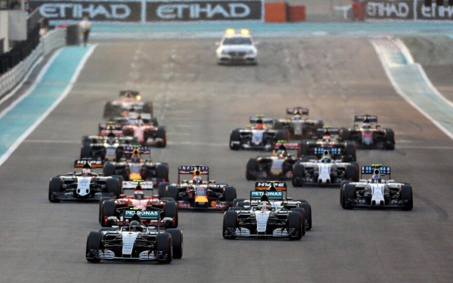 """""""Formulės-1"""" etapas Abu Dabyje reuters"""
