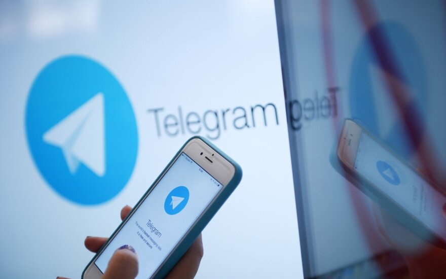 """""""Telegram"""" savininkas: programėlės blokavimas žalingas Rusijos nacionaliniam saugumu"""