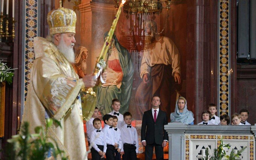 Aštrėjant ginčui dėl Ukrainos Bažnyčios Maskvos patriarchatas nusigręžė nuo Konstantinopolio