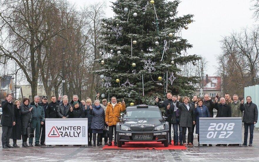 """""""Winter Rally"""" organizacinio komiteto susitikimas"""