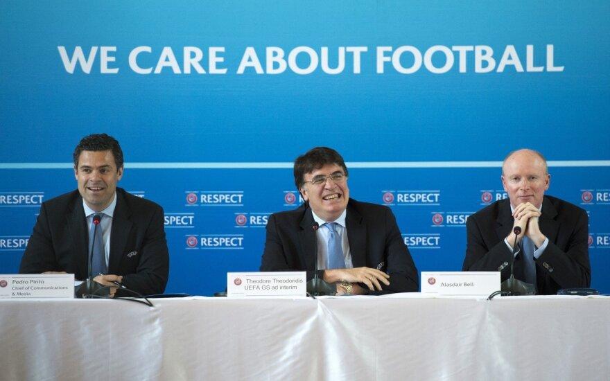 UEFA rugsėjį išrinks savo naująjį prezidentą