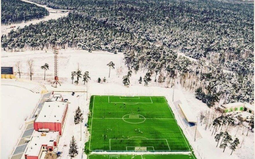 Klaipėdos centrinio stadiono dirbtinės dangos aikštė
