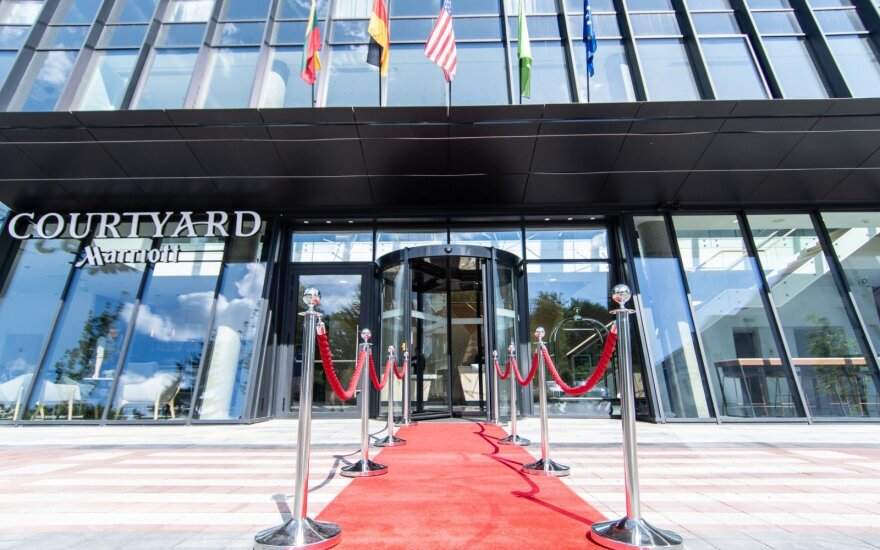 """Courtyard by Marriott"" viešbučio pristatymas"