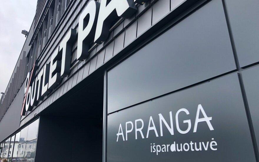 """""""Apranga"""" išparduotuvė"""
