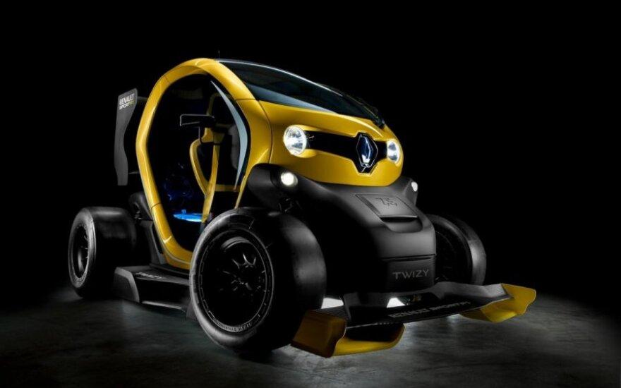 Elektromobilis Twizy Renault Sport F1