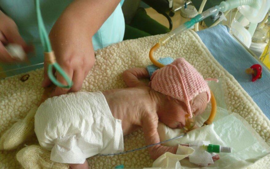 Tikros gyvenimo dramos: ką reiškia pagimdyti vos 600 g sveriantį kūdikį